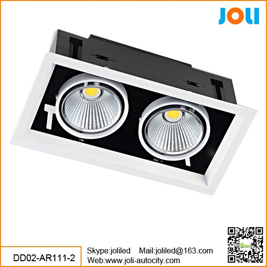 Grille downlight